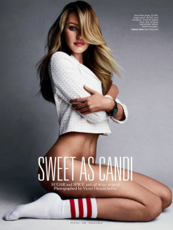 weareglitter:  Sweet As Candi Candice Swanepoel for Vogue Australia