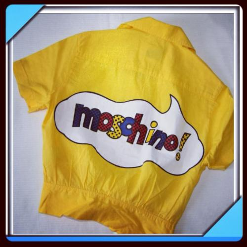 1980s Moschino Tie Top ♛ Soon availble on ABOYSCLOSET