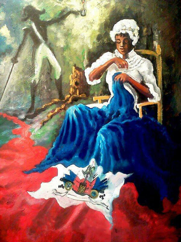 haitianculture:  accras:  Happy Haitian Flag day   L'Union Fait La Force