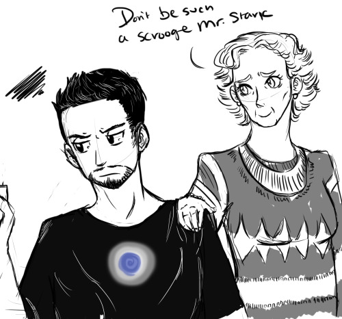 Tony is still upset that Spiderman and Sherlock didn't appreciate his effort to bring the Christmas spirit… Tomorrow The Avengers, the hunters, timelord, and the gang at Baker Street reveal their Secret Santa!!