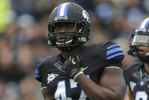 nfloffseason:  The Detroit Lions have chosen BYU Defensive End Ezekiel Ansah as the 5th pick in the 2013 NFL Draft. Apparently finding a complimentary WR for Calvin Johnson or a RB that can last a whole season and be effective wasn't important enough for them. You have to wonder how Ndamukong Suh will help to develop his new defensive teammate.  This kid has a ton of potential. However, I don't think it is 1st round worthy. The Lions need more help in the secondary and O-line than anywhere else.