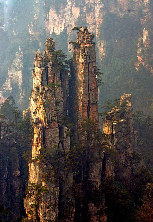 Spires, Zhang Jia Jie, China photo via theo