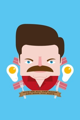 Ron Swanson Wants Your Bacon