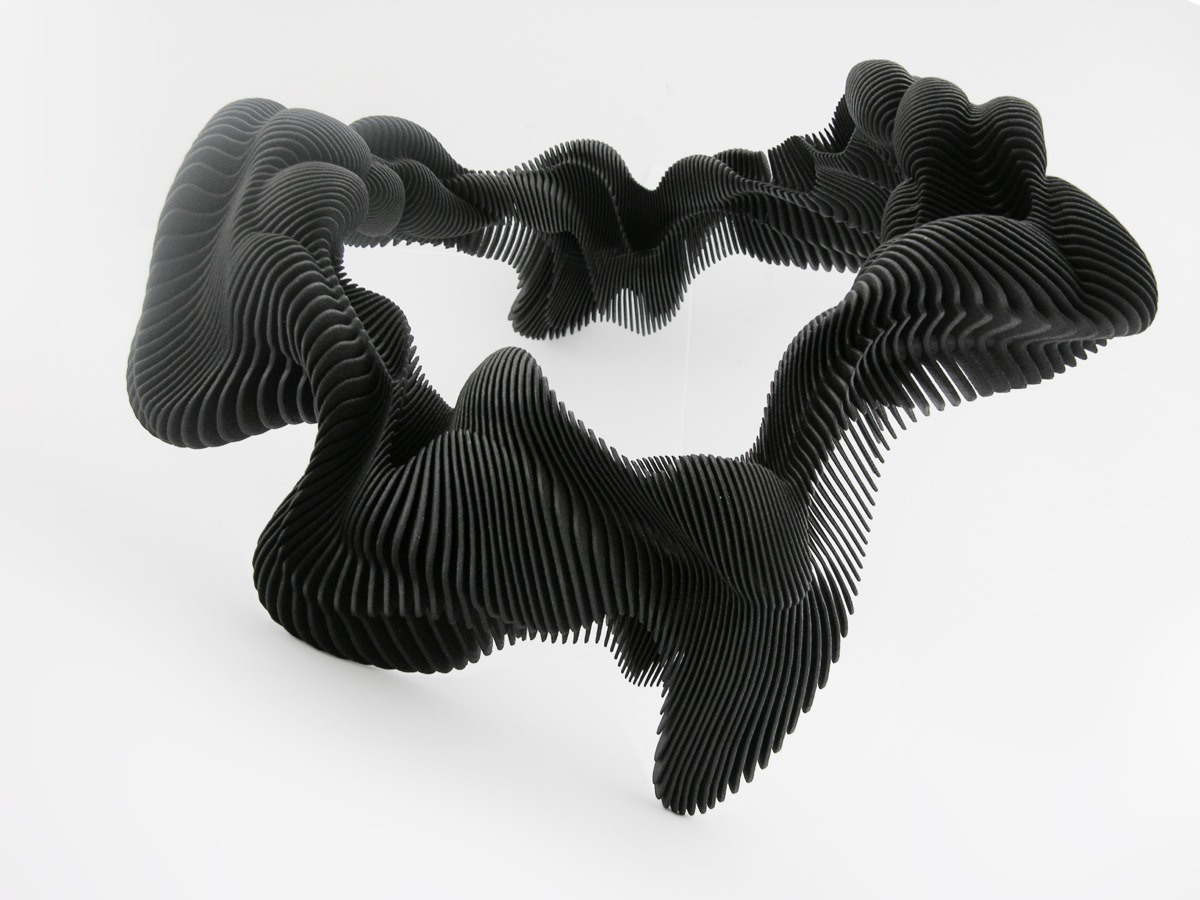 Sumptuous  3D printed jewelry by Daniel Widrig