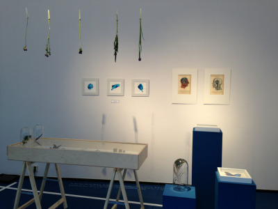 My first expo, -blauw besef-