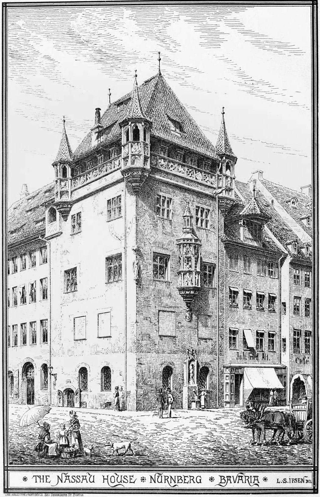 The Nassau House, Nürnberg