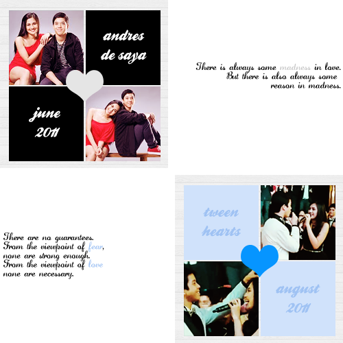 julielmographics:  JuliElmo At 3 (C) Credit for the pictures used go respectively to their owners, as well as the quotes. This is inspired by a Zac/Vanessa forum I was a part of before. Also to the JuliElmo Pex Threads for reference to the years/months. :)  aww..we were with them, we still are and we'll always be :)