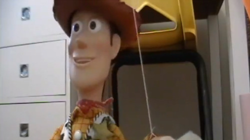 "Super fans create full-length, live-action ""Toy Story"" remake using actual toys!  Disney and Pixar changed animation forever when they released ""Toy Story"" – the first feature-length computer animated family comedy. But what if the technology had never existed and ""Toy Story"" was created as a live-action film instead the animated classic it's become? It looks like 19-year old Jonason Pauley and 21-year old Jesse Perrotta wanted to find out, as they've created a shot-for-shot, live-action remake using actual toys. MORE after the jump!"