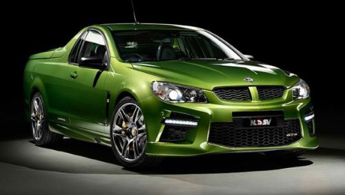 """The 576bhp Maloo GTS is here HSV confirms monster version of the Maloo ute. Ready your finest straitjacket.  Holden Special Vehicles, """"Australia's leading performance car manufacturer"""", has announced details of a range-topping version of its Maloo pickup. It's called the GTS, and it's actually quite mad.  'Good' mad, though, and an important bit of news, too.GM - who owns Holden - announced at the end of last year that it will stop building cars in Australia by the end of 2017. So this Maloo GTS is the one of the last in a long, fine line of mad V8 utes from Aus. As such, it gets GM's 6.2-litre supercharged LSA V8 engine, producing a big fat 576bhp and 546lb ft of torque. That s'charged V8 will be bolted onto the Maloo's VXR8-based chassis, driving either a six-speed manual gearbox or optional six-speed 'heavy duty' auto 'box, driving the rear wheels. No performance times have been presented, but the last Maloo VXR could sprint from 0-62mph in 4.9 seconds and rock on to a limited top speed of 155mph. So it'll be quick, then. [x]"""