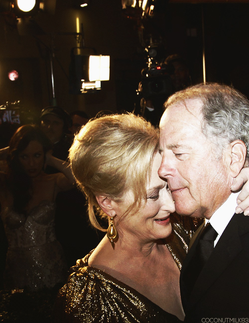 coconutmilk83:  Meryl Streep & Don Gummer | 84th Annual Academy Awards, 2012 (✗)
