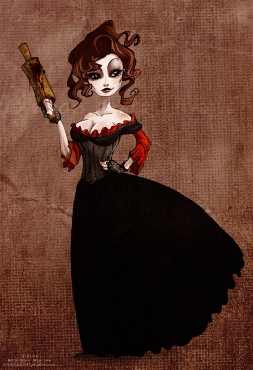 a-harlots-progress:  Mrs. Lovett's Meat Pies by ~KinkyAzianKitty