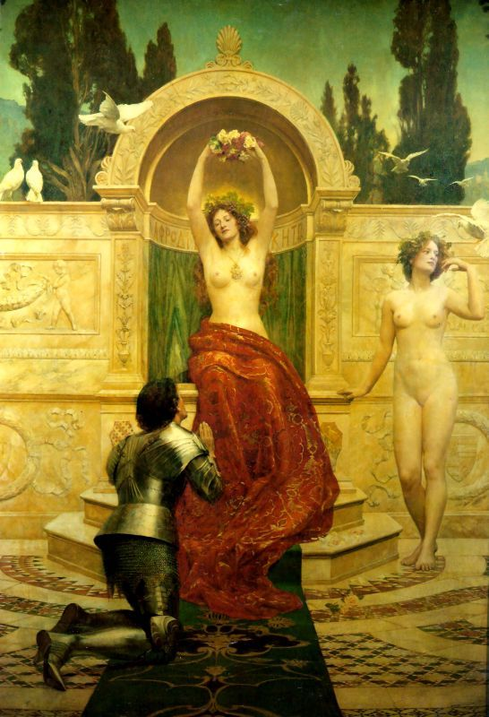 John Collier  In the Venusberg Tannhauser