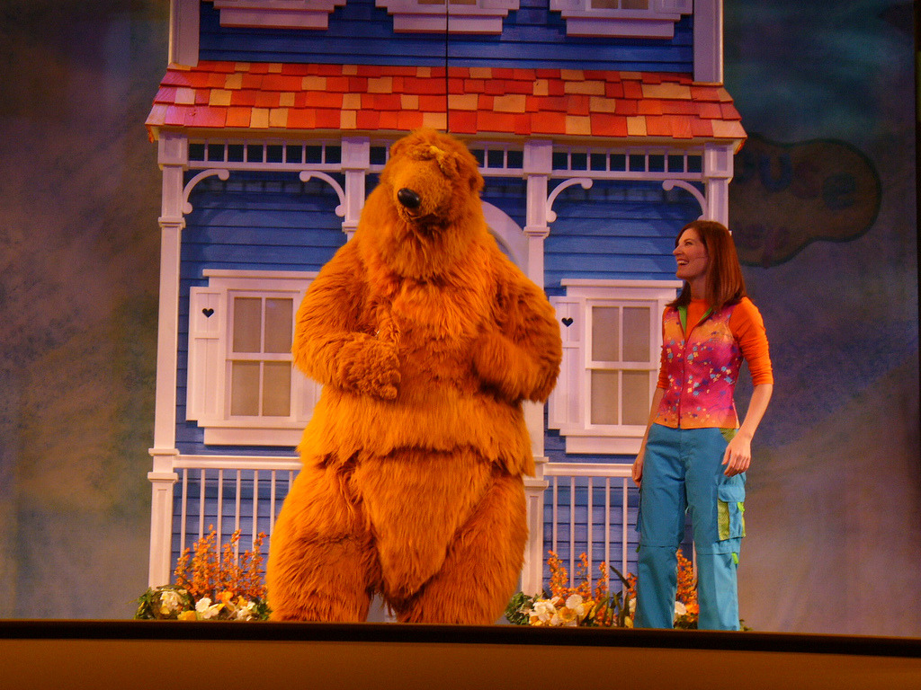 bear big blue house - 28 images - access youtube, bear in ...