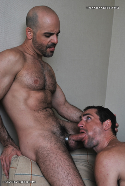 dilf-fan:VERSATILE DADDY ADAM RUSSO TOPPING, BOTTOMING AND TAKING SEED IN HIS FURRY FUCK-HOLE.