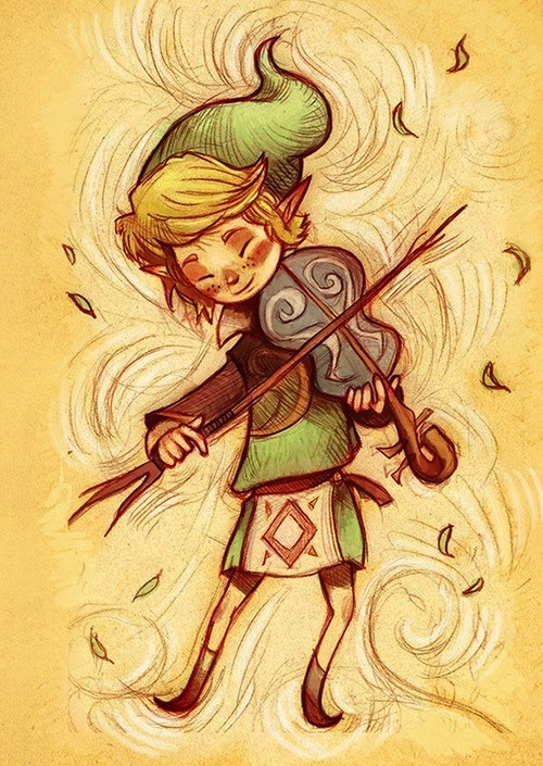 The Legend of Zelda by Amanda Mullins