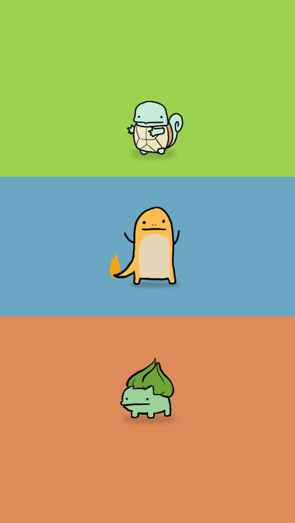 http://iphonr.tumblr.com/post/39971547872  Kanto Starter iPhone Wallpaper