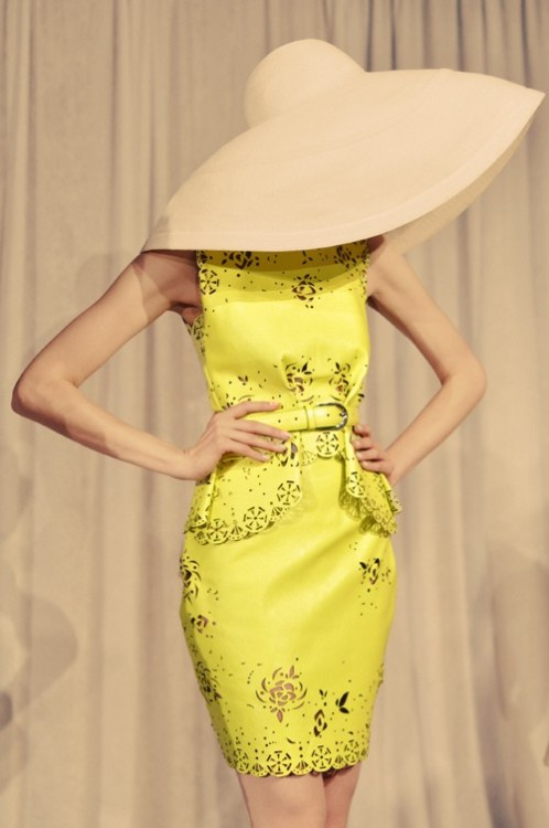 Joy Cioci yellow dress
