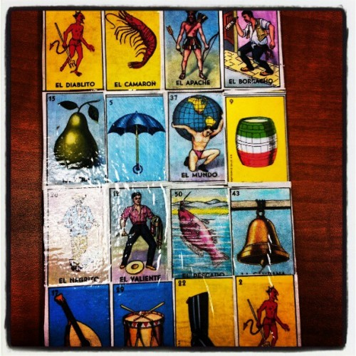 bowsic:  So we playes #loteria and a bunch of other kids game iny college class today