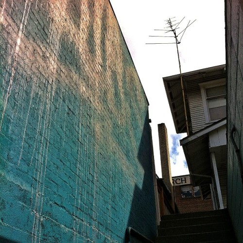 University District, Seattle, Washington #urban #wall #texture (at Nook)