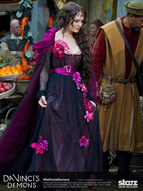 fripperiesandfobs:  I believe the costume designer for Da Vinci's Demons has been possessed by one of said demons.