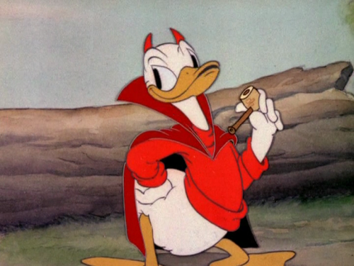 disneytoonland:  Donald's Better Self 1938