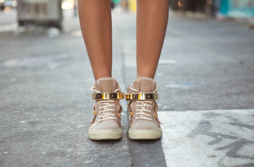 asthetiques:  GIUSEPPE ZANOTTI - HIGH TOP SNEAKERS