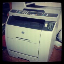 New printer and it was free ♥