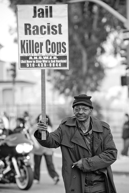 bonsss:  Jail Racist Killer Cops-2 by Thomas Hawk on Flickr.
