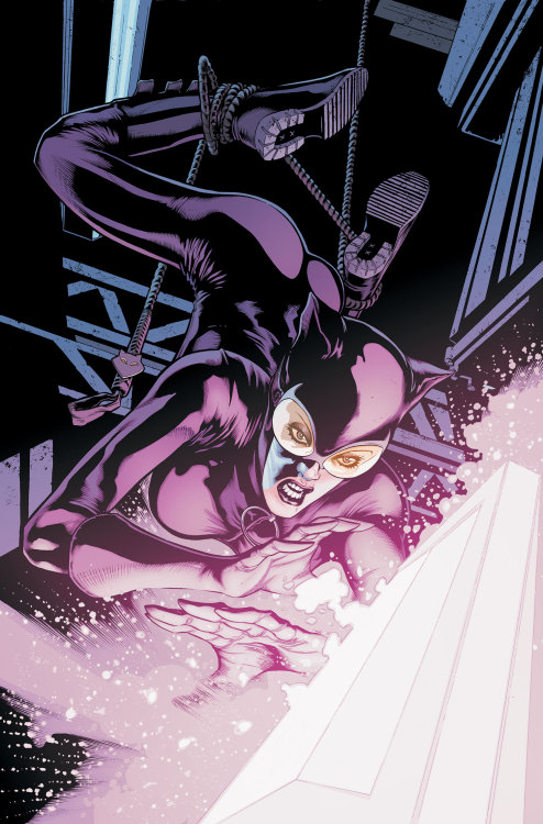 Market Monday Catwoman #15, written by Ann Nocenti   Following her standoff against The Joker, Catwoman takes an easy job: stealing Eclipso's Black Diamond from The Black Room! The diamond's power rises with the full moon…like on the night Catwoman sets out to take it!    ~Preview~