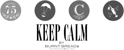 "BURNTBREADSHIRTS | | ""KEEP CALM"" You better be suited up and ready for the next movie! Panem-onium is here! Be ready for the REBELLION!!! Here are some of our new designs for the new line!  Want 'em? GET 'EM!: CINNA: (posters, prints, stickers) HERE BOMBS:(posters, prints, stickers AND SHIRTS) HERE SPONSORS: (posters, prints, stickers) HERE FOG: (posters, prints, stickers) HERE redbubble.burnbreadshirt"