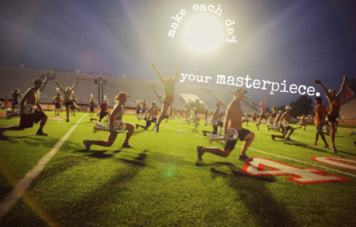 """""""Make each day your masterpiece."""" John Wooden"""
