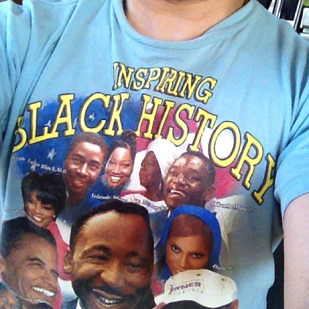 I only wear t-shirts that have Dikembe Mutombo's face on them