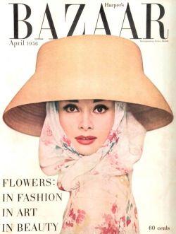 | Harper's Bazaar, 1956 | Audrey Hepburn