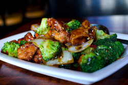 prettygirlfood:  Sesame Chicken w. Broccoli @ P.F. Changs