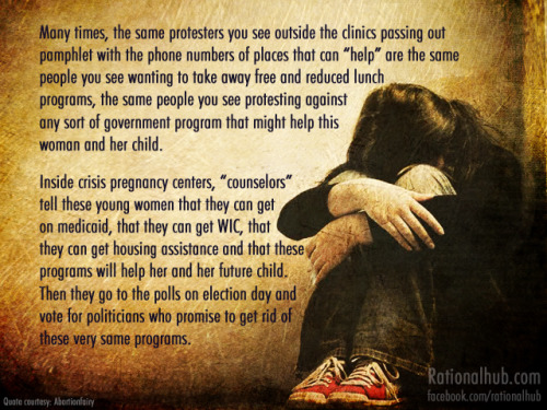 my-feminism:  On pro life hypocrisy.. by ~rationalhub