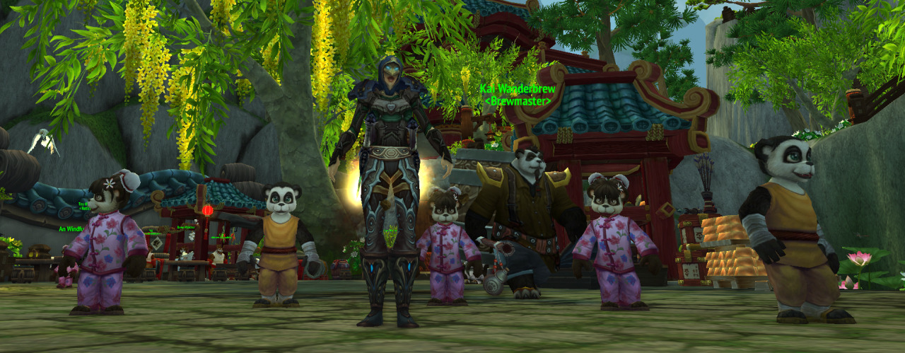 DAE think pandaren children are way creepy?