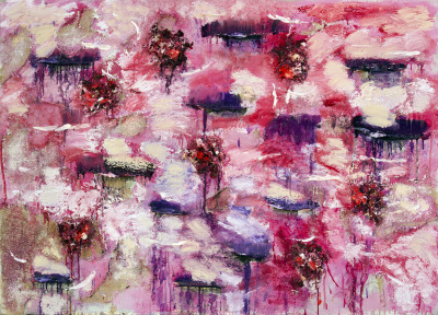 cavetocanvas:  Joan Snyder, Purple Passion, 2012