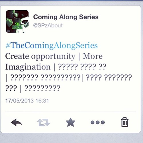Join The Journey lol  #TheComingAlongSeries (Edition 2) Will be out 25th May Stay Locked its going to be an interesting Ride  #MoreImagination | #25thMay
