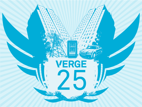 I was fortunate to receive the first-annual VERGE 25 Awards, celebrating executives, entrepreneurs, policy makers, thought leaders and others whose organizations and visions are building markets for such things as smarter supply chains, connected vehicles, next-generation buildings and campuses, and smart energy systems.