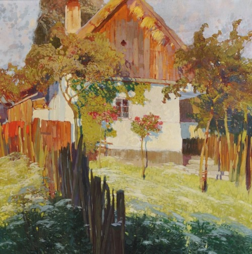 blastedheath:  Jaroslav Setelik, Native Home with a Garden.