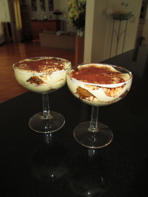 Little creative moments: my first Tiramisù *O*