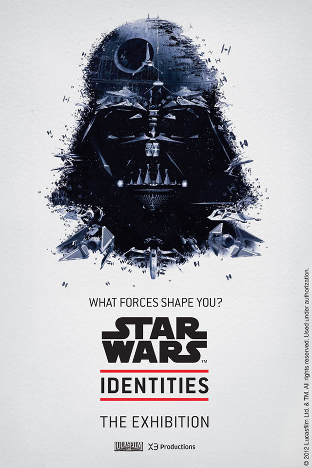 laughingsquid:  Star Wars Identities, An Interactive Character Based Exhibition  I want to go to this.