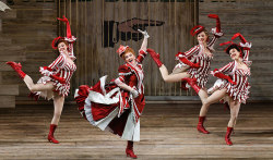 Ericka Mac and dancers, SHOW BOAT - c. Robert Kusel/Lyric Opera of Chicago