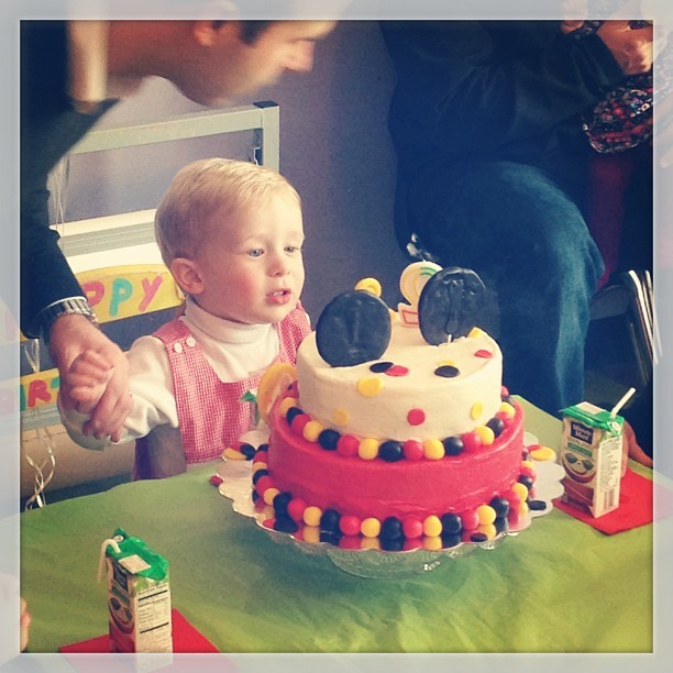 Celebrating Carter's 2nd birthday! #photos #2 #birthday #bday #sunday #uncle #family #bestfriends #bff #love #mickey #cake @ktkruk