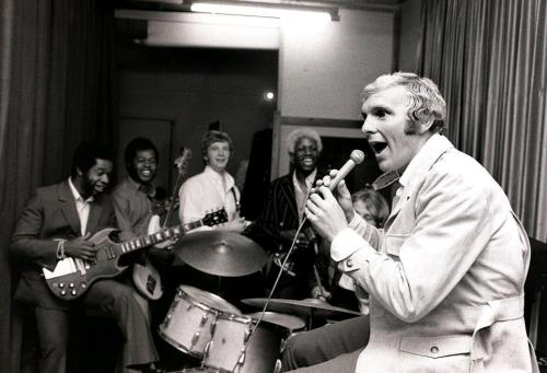 futbolintellect:  Footballers as Pop Stars, Part 7: Bobby Moore in the recording studio, circa 1968.