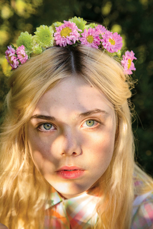 suicideblonde:  Elle Fanning photographed by Tierney Gearon for New York Times Magazine, December 6th, 2012