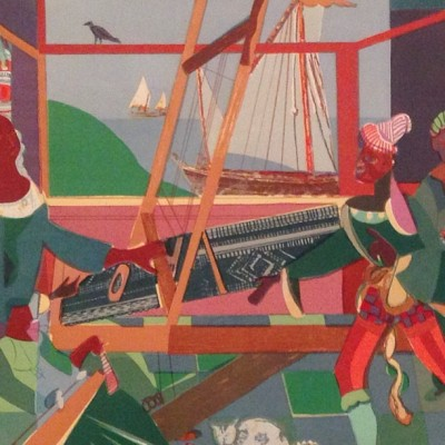 Lots of great works in Romare Bearden: A Black Odyssey at Amon Carter Museum of American Art. #romarebearden #amoncarter #bearden  (at Amon Carter Museum of American Art)