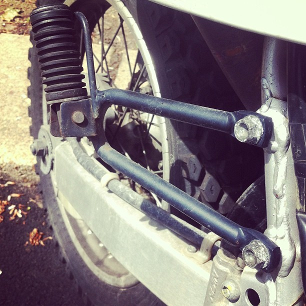 What size bolts hold the rear pegs to the frame? Honda-specific or easy-to-source? (at Dominion Towers)