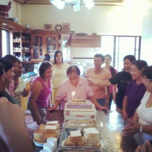 Happy 86th Birthday lola Eying. :)) #happy #86th #Birthday #longlive #Longlife