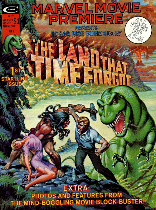 monsterman:  The Land That Time Forgot (Marvel Movie Premiere No.1, 1975)Cover Art by Nick Cardy